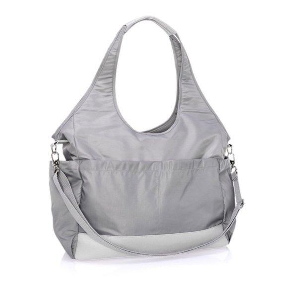 City Park Diaper Bag - Wisper Grey